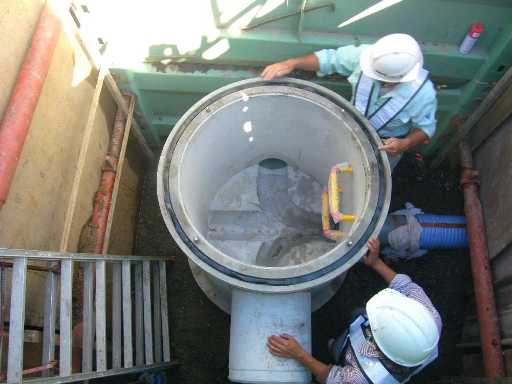 平成24年度 鶴岡市公共下水道事業 汚水19I015~022号新設工事